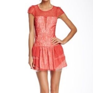 BCBGeneration red lace dress